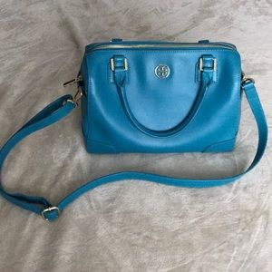 Tory Burch Robinson Electric Eel Middy Satchel